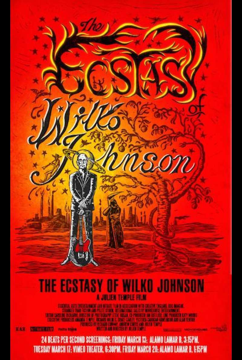 The Ecstasy of Wilko Johnson - Teaserplakat SXSW (INT)