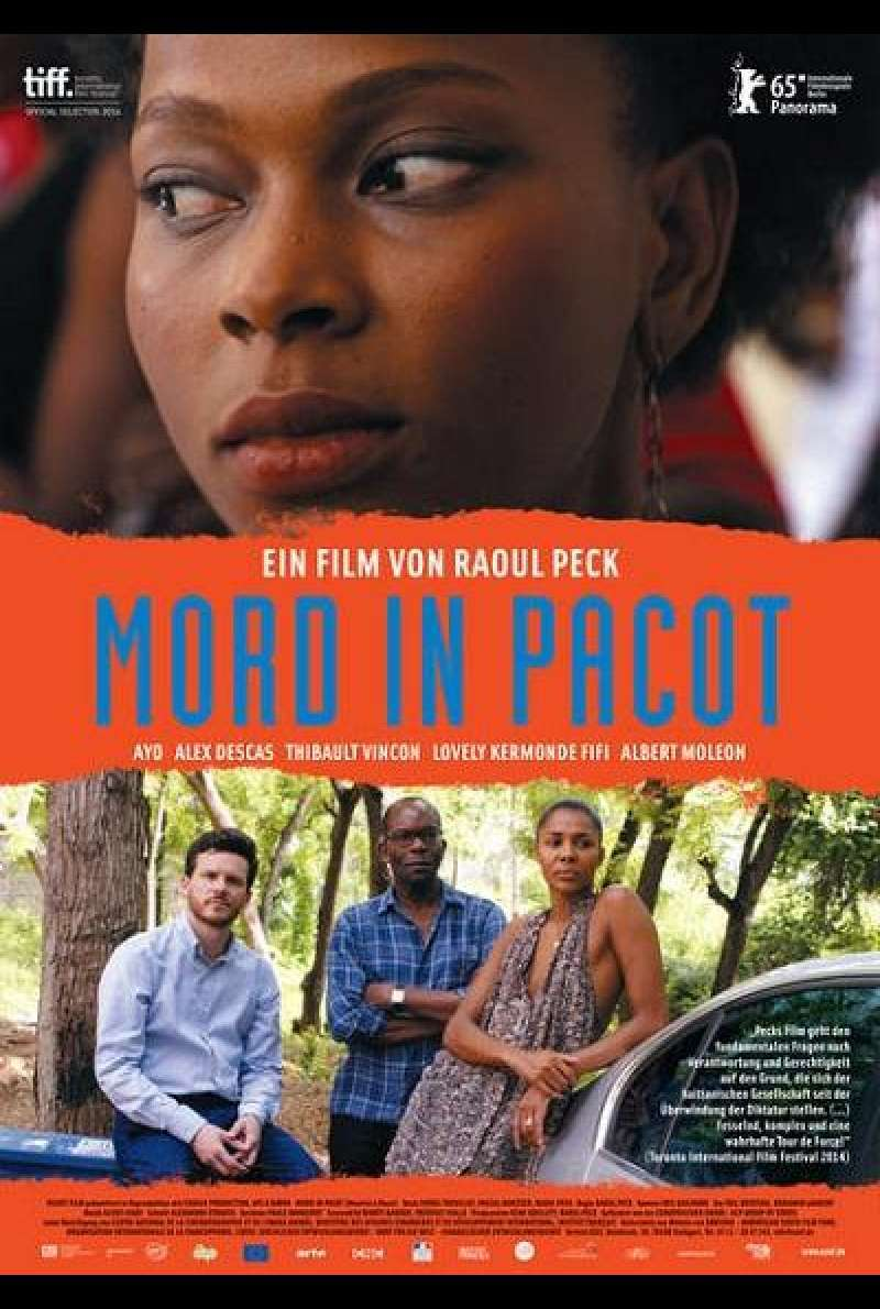 Mord in Pacot - Filmplakat