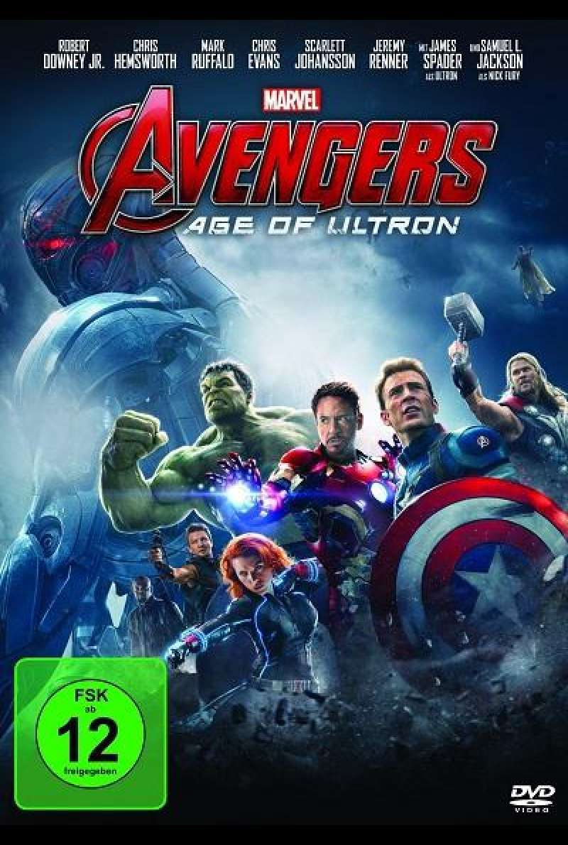 Avengers - Age of Ultron - DVD-Cover