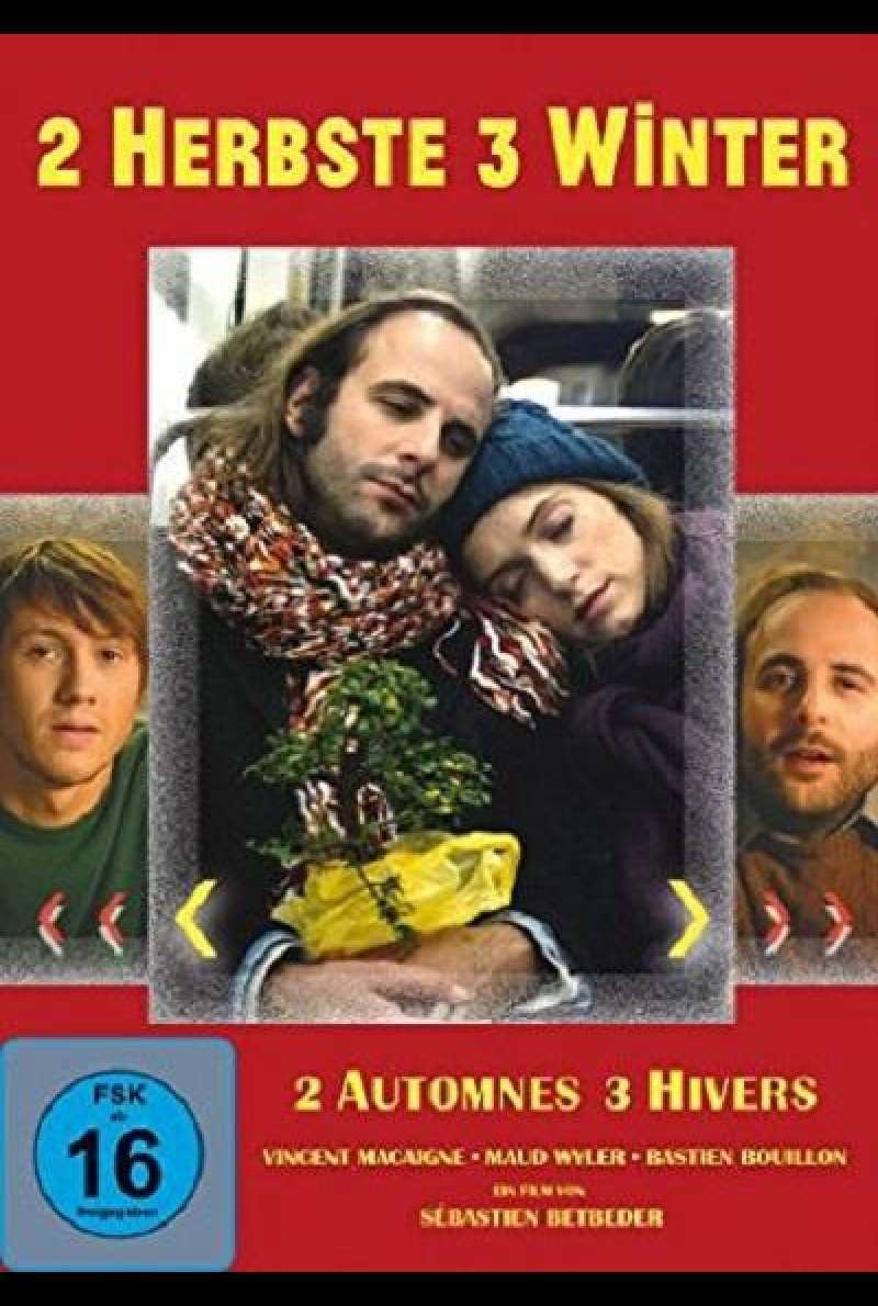 2 automnes 3 hivers - 2 Herbste 3 Winter - DVD-Cover