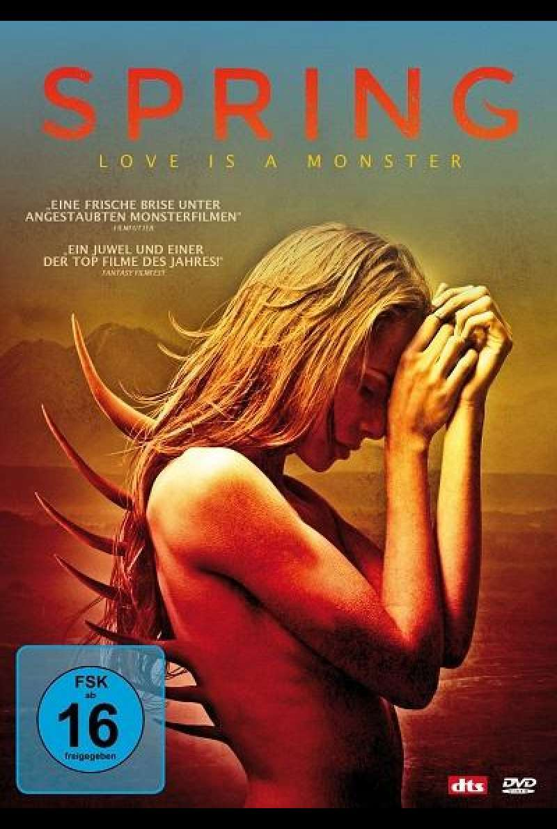 Spring - Love Is a Monster - DVD-Cover