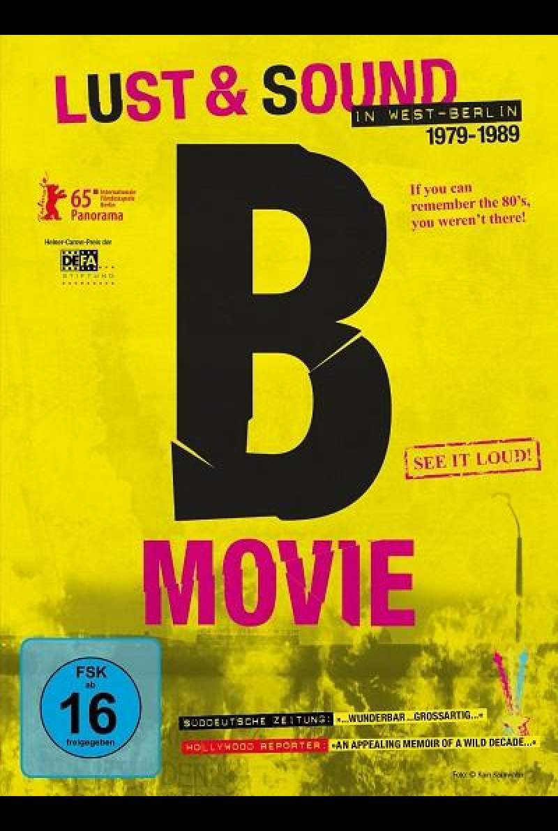 B-Movie: Lust & Sound in West-Berlin - DVD-Cover