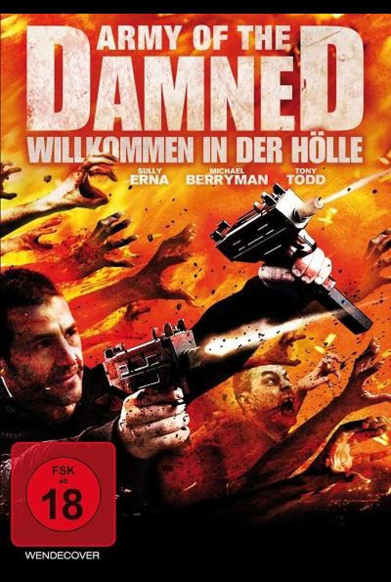 Army of the Damned - Willkommen in der Hölle - DVD-Cover