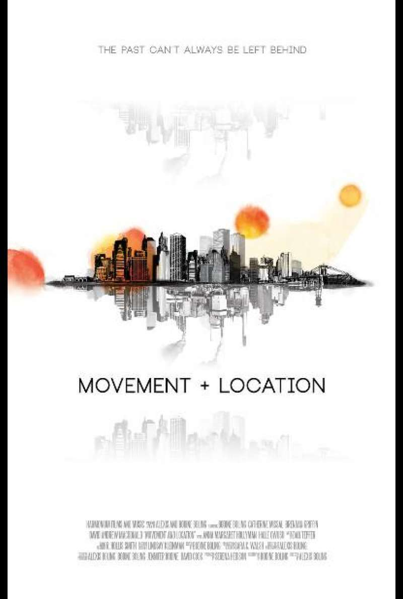 Movement and Location - Filmplakat (US)