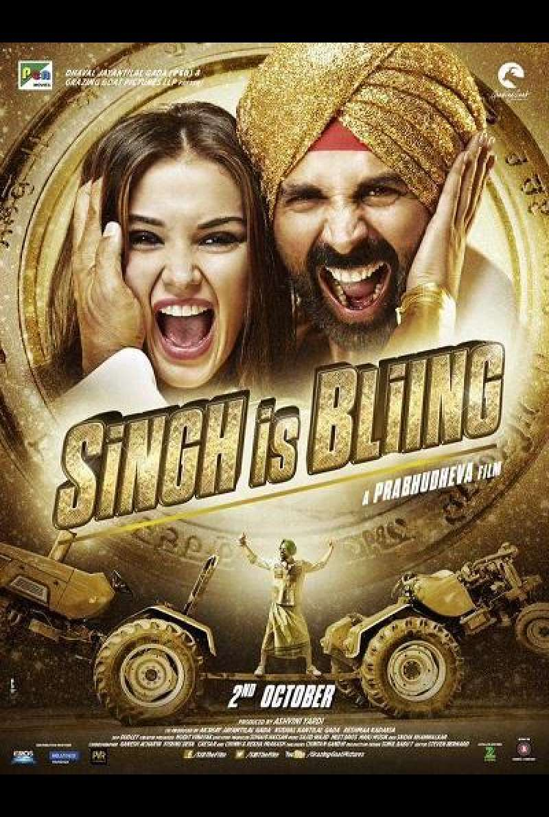 Singh Is Bliing - Filmplakat (INT)