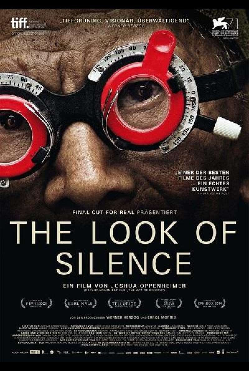 The Look of Silence - Filmplakat