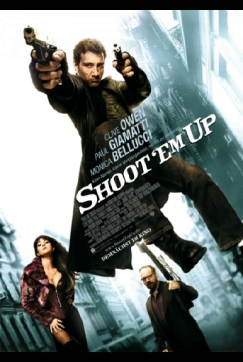 Filmplakat zu Shoot 'Em Up von Michael Davis