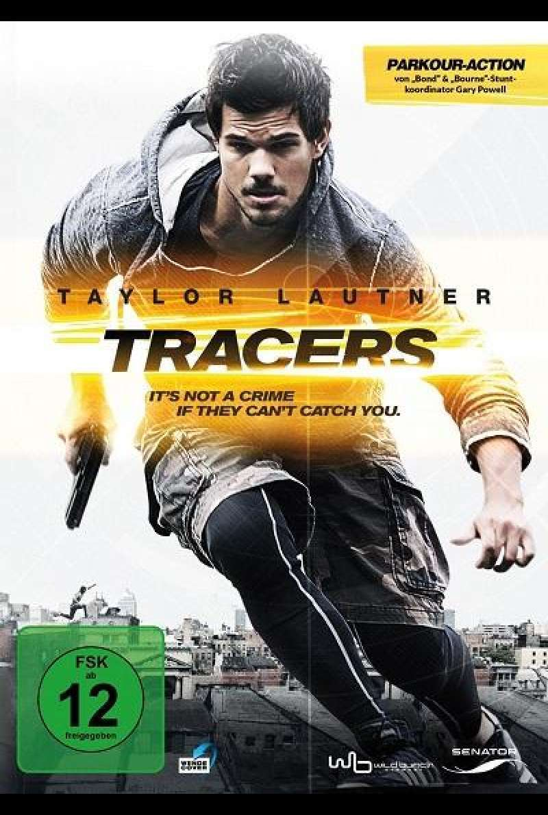 Tracers - DVD-Cover
