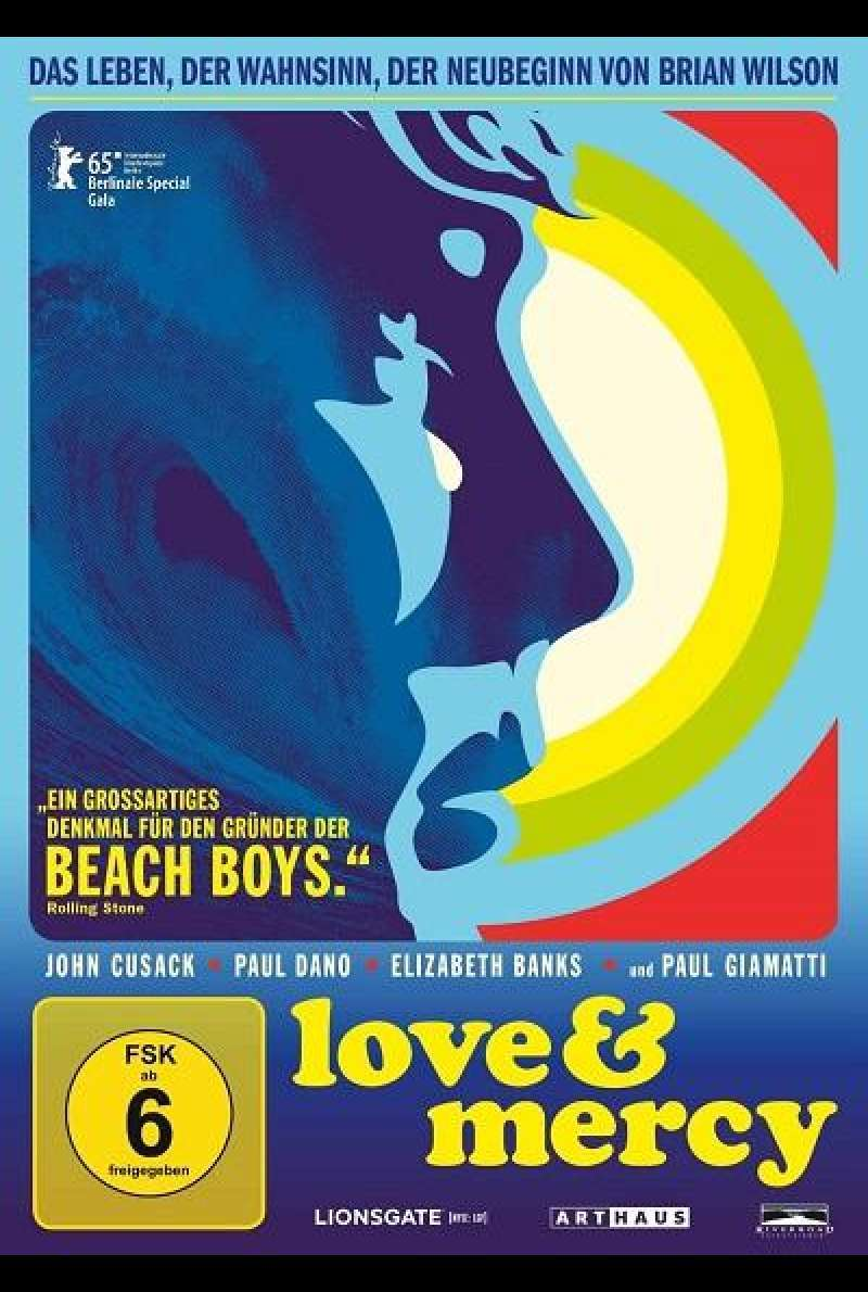 Love & Mercy - DVD-Cover