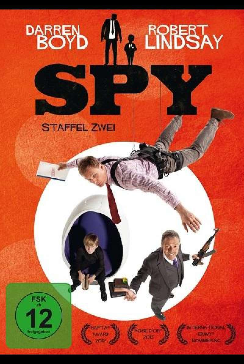 Spy - Staffel 2 - DVD-Cover