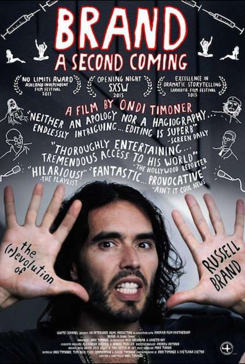 Brand: A Second Coming - Filmplakat (US)