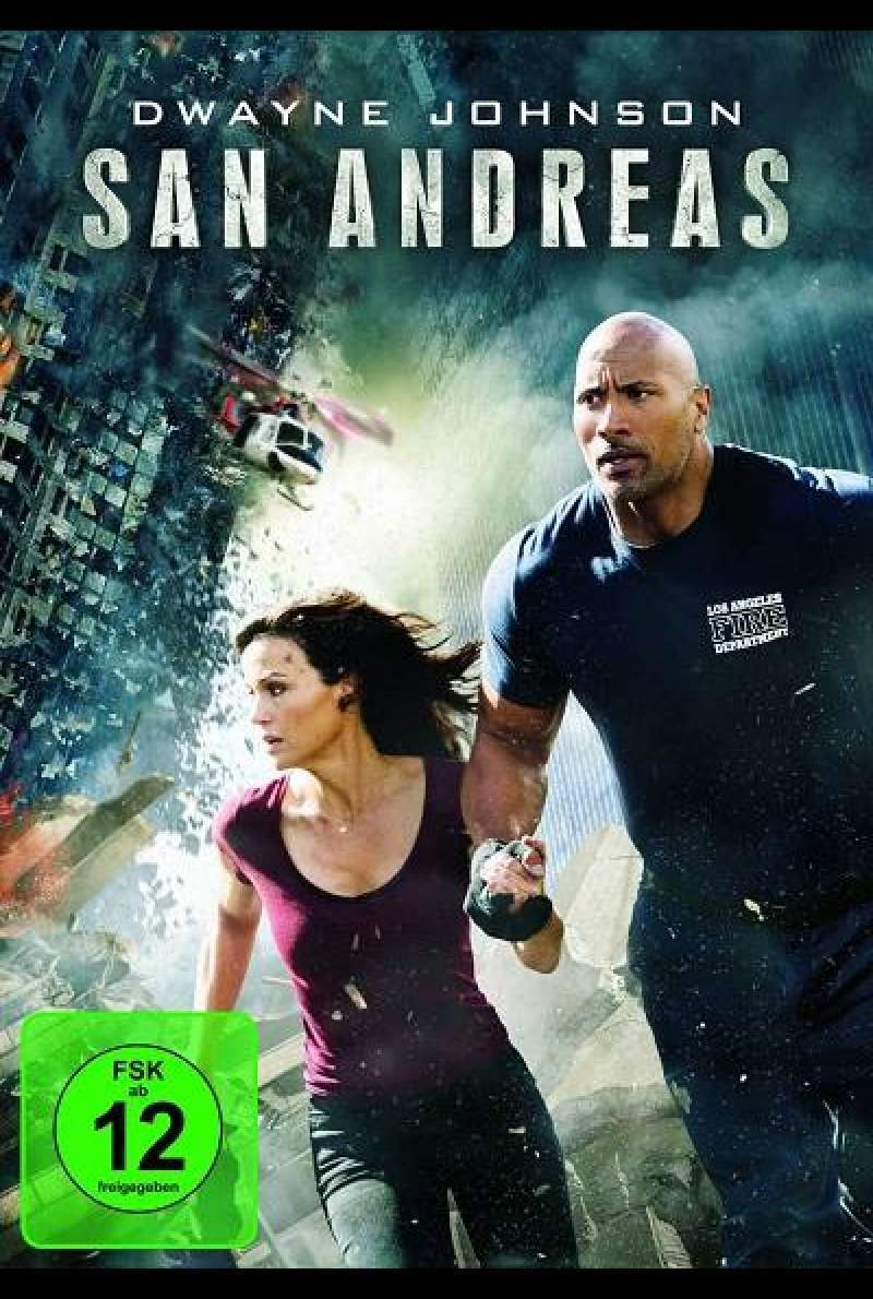 San Andreas - DVD-Cover