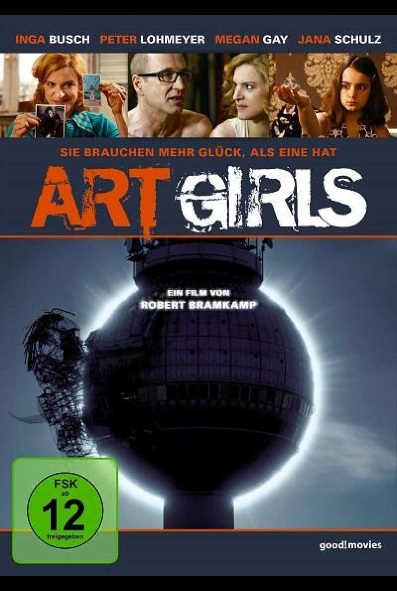 Art Girls - DVD-Cover