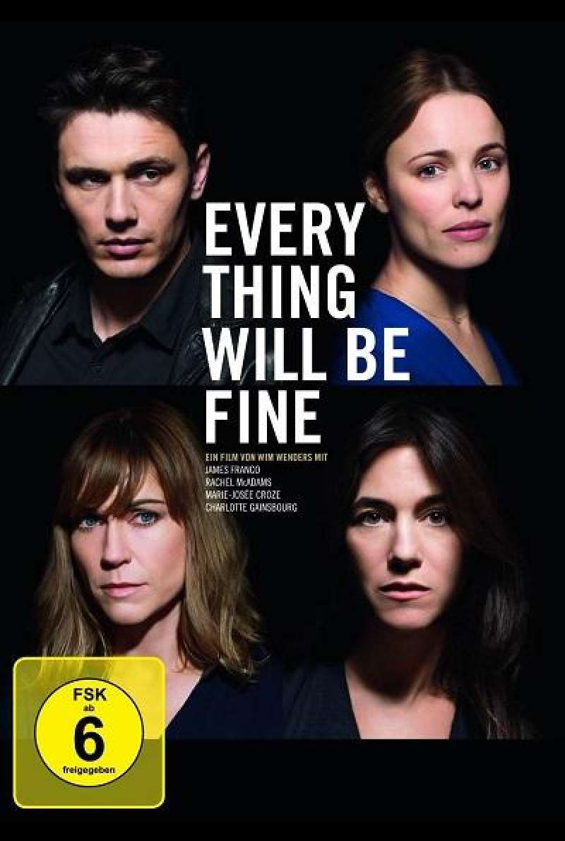 Every Thing Will Be Fine - DVD-Cover