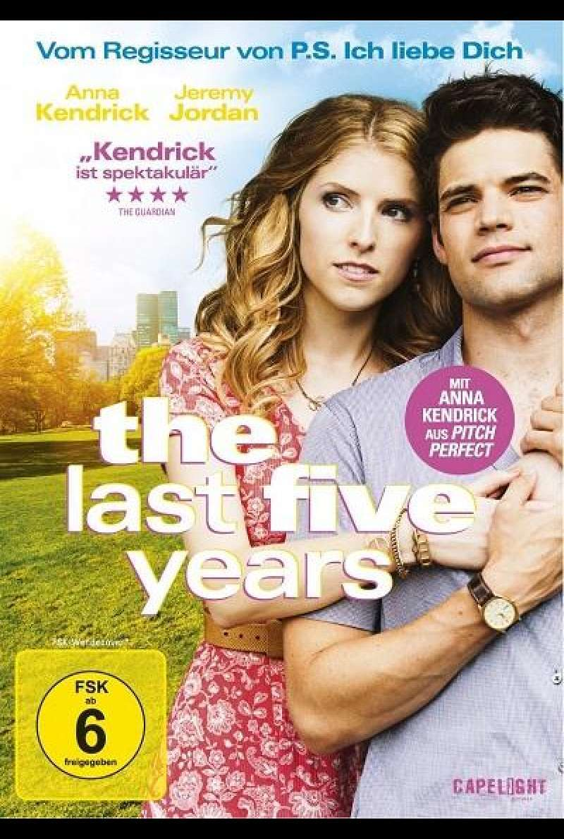 The Last Five Years - DVD-Cover