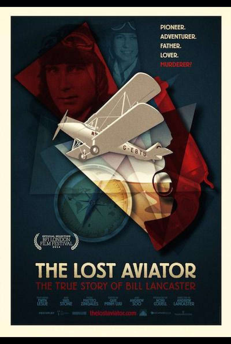 The Lost Aviator von Andrew Lancaster - Filmplakat (INT)