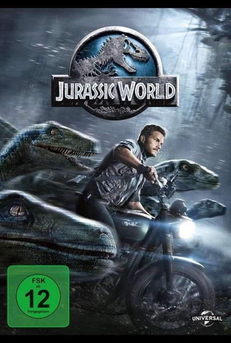 Jurassic World - DVD-Cover