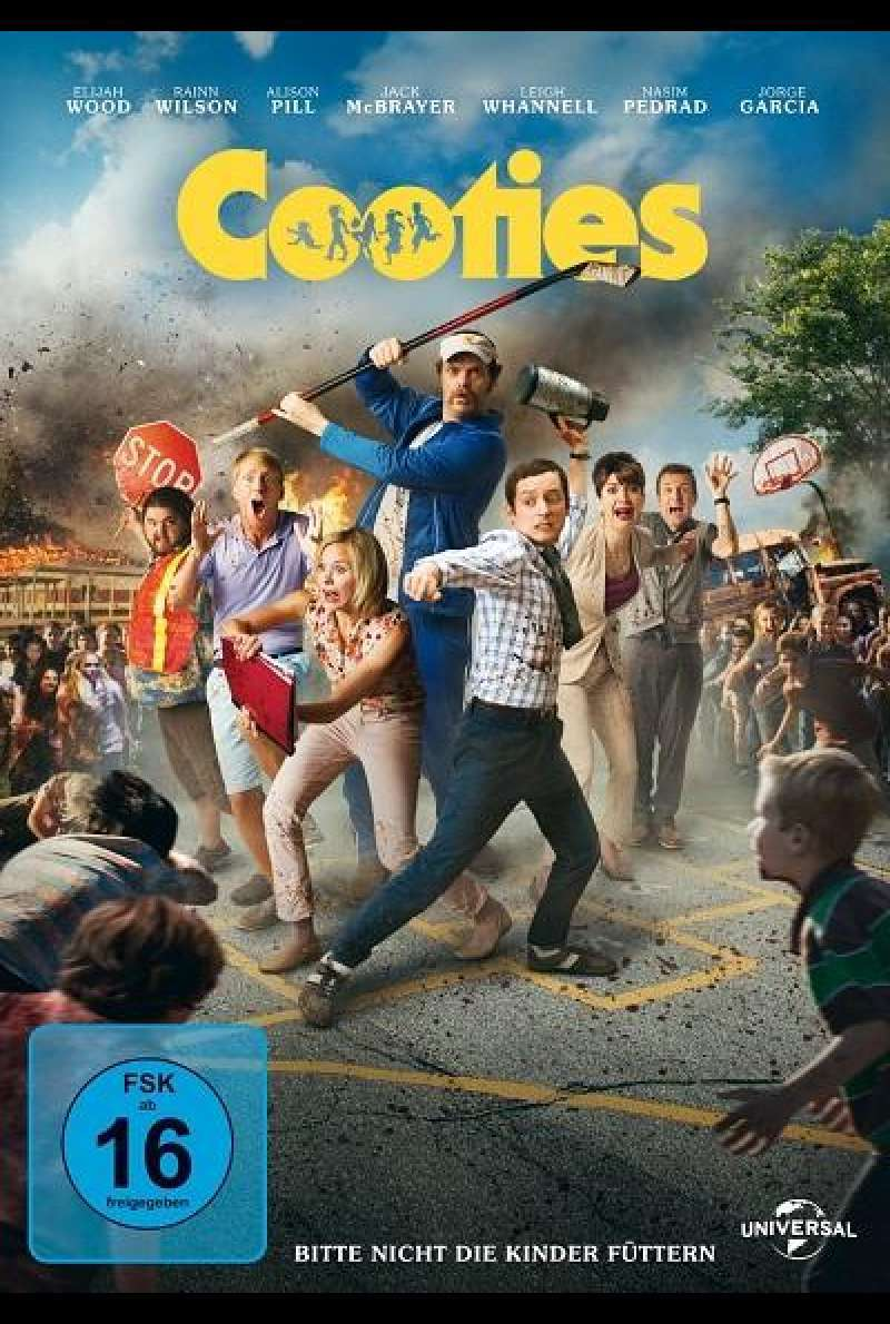 Cooties - DVD-Cover