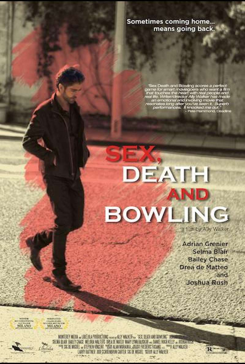 Sex, Death and Bowling von Ally Walker - Filmplakat (US)
