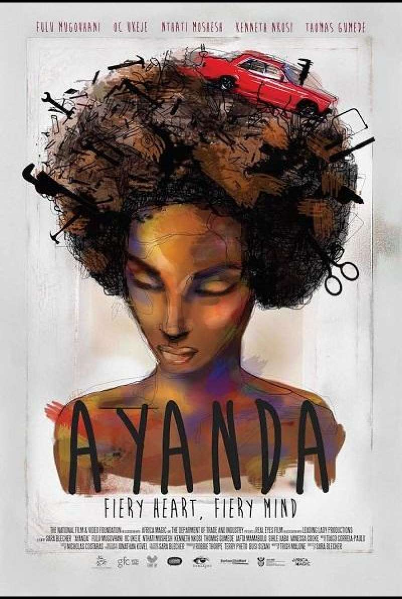 Ayanda and the Mechanic - Filmplakat (US)
