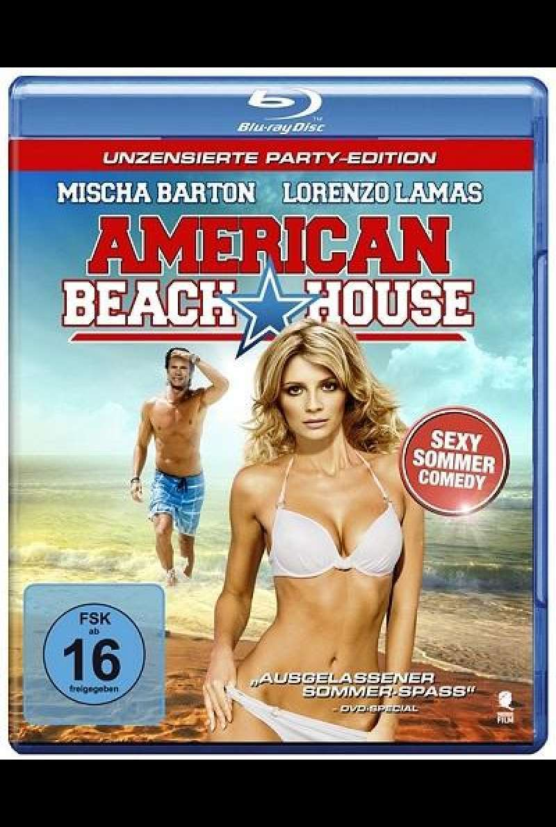American Beach House - Blu-ray-Cover