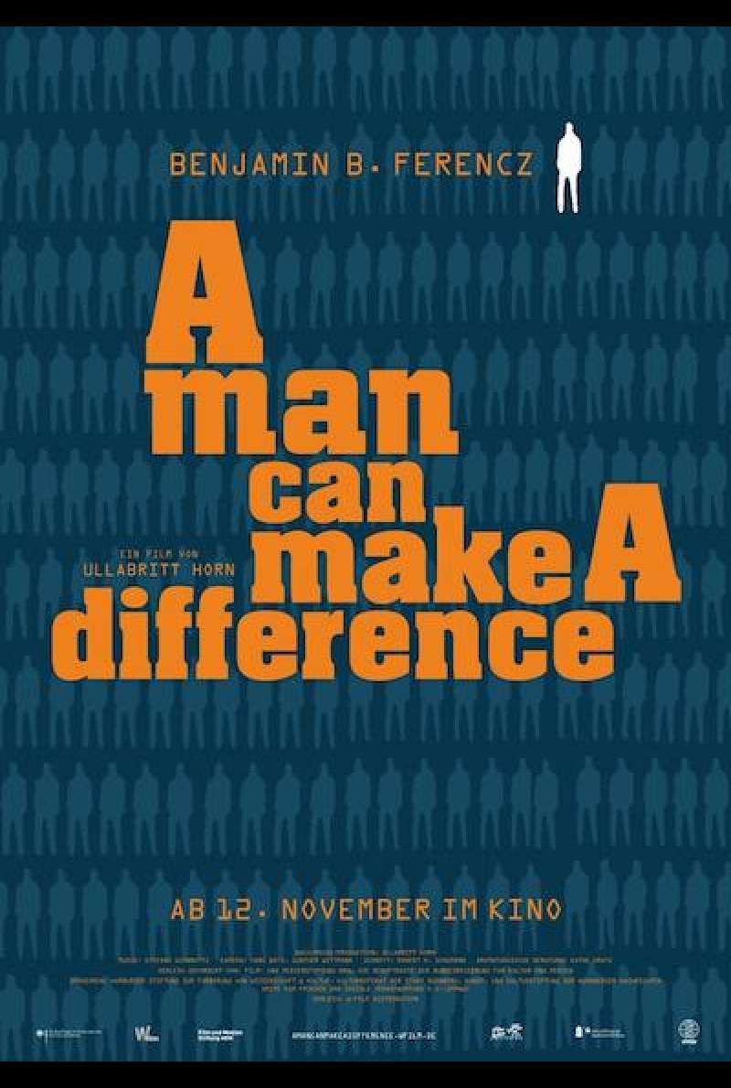 A Man Can Make a Difference von Ullabritt Horn - Filmplakat
