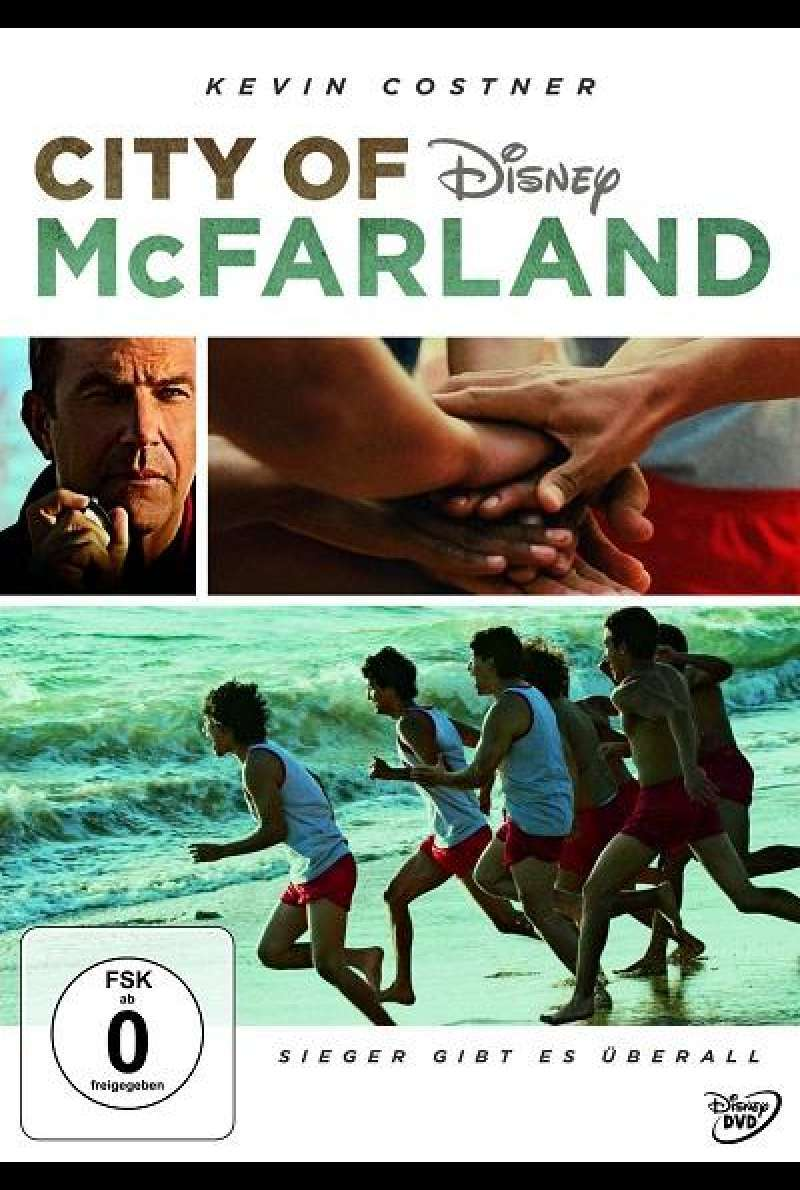 City of McFarland - DVD-Cover