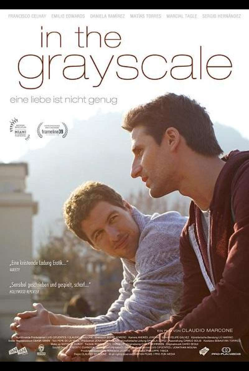 In the Grayscale - Filmplakat