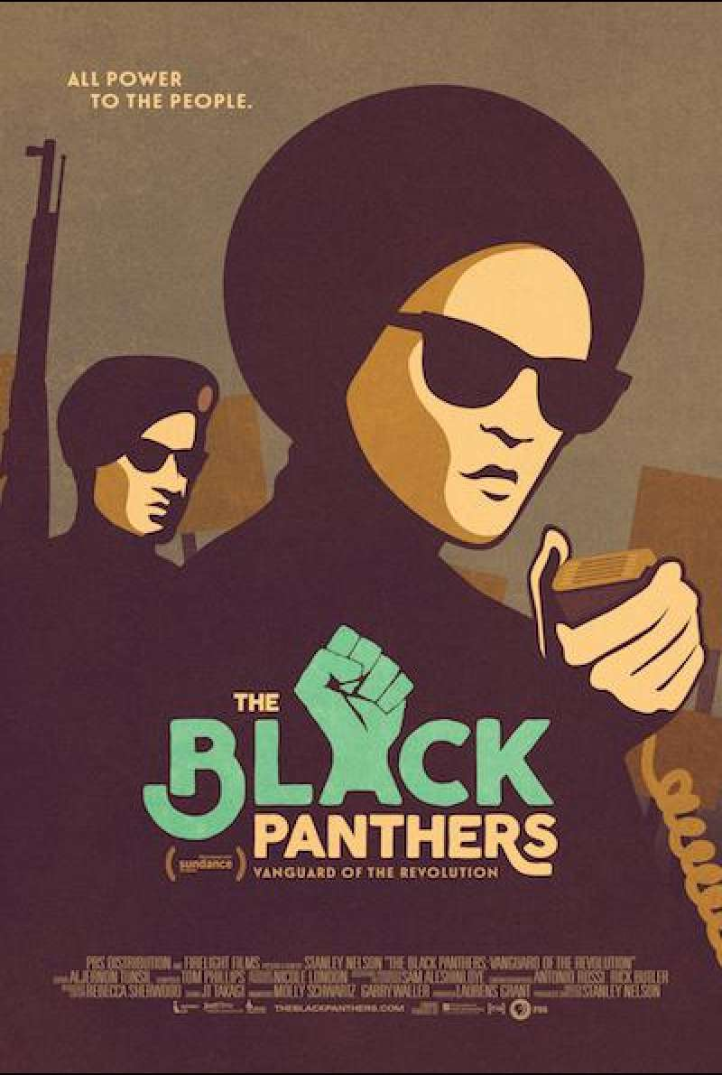 The Black Panthers: Vanguard of the Revolution von Stanley Nelson - Filmplakat (US)