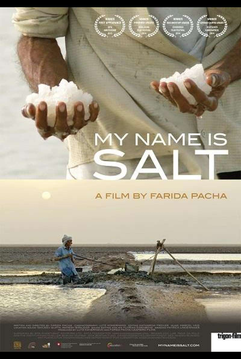 My Name Is Salt - Filmplakat