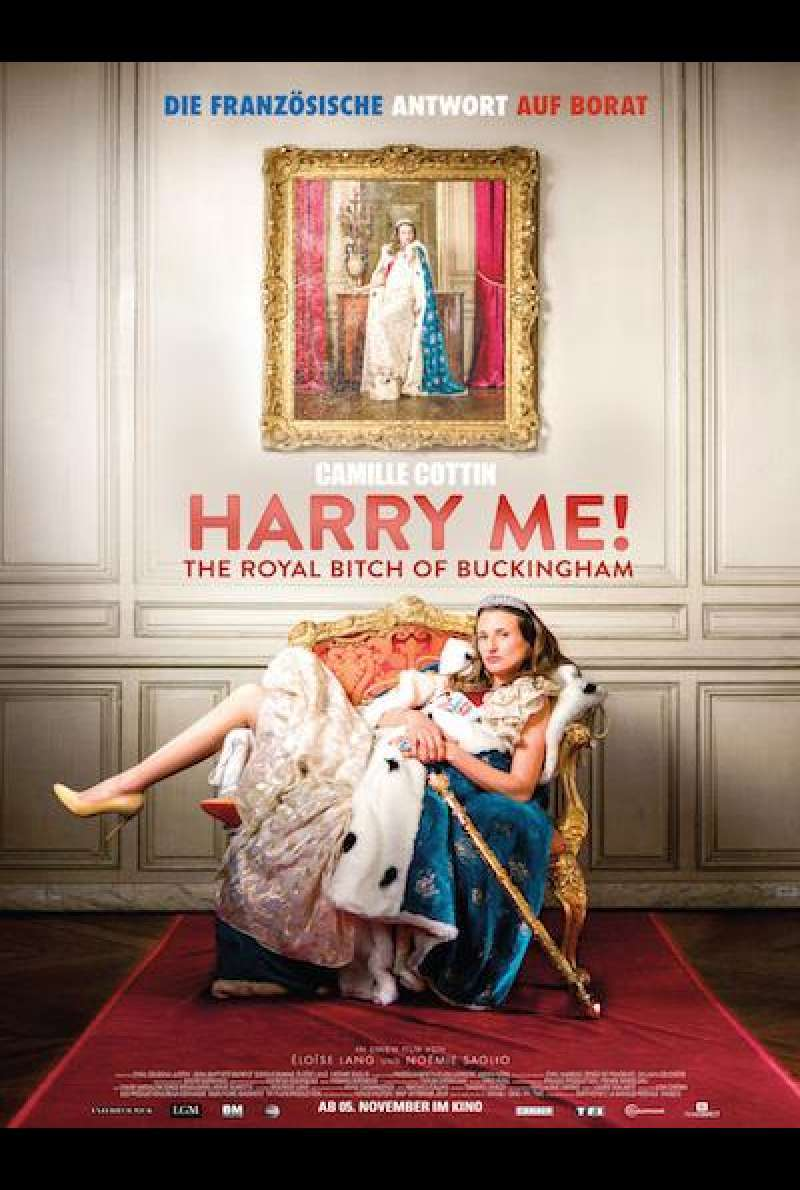 Harry Me! The Royal Bitch of Buckingham von Eloïse Lang und Noémie Saglio - Filmplakat
