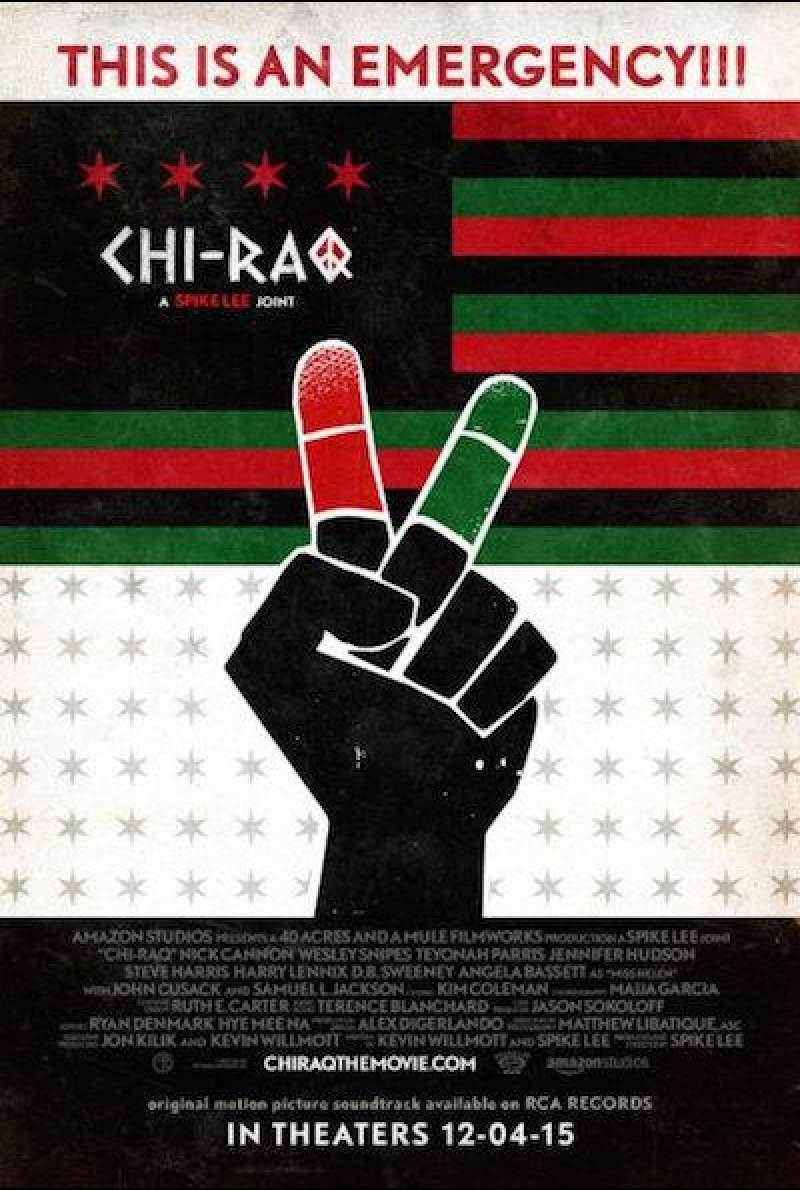 Chi-Raq von Spike Lee - Filmplakat (US)