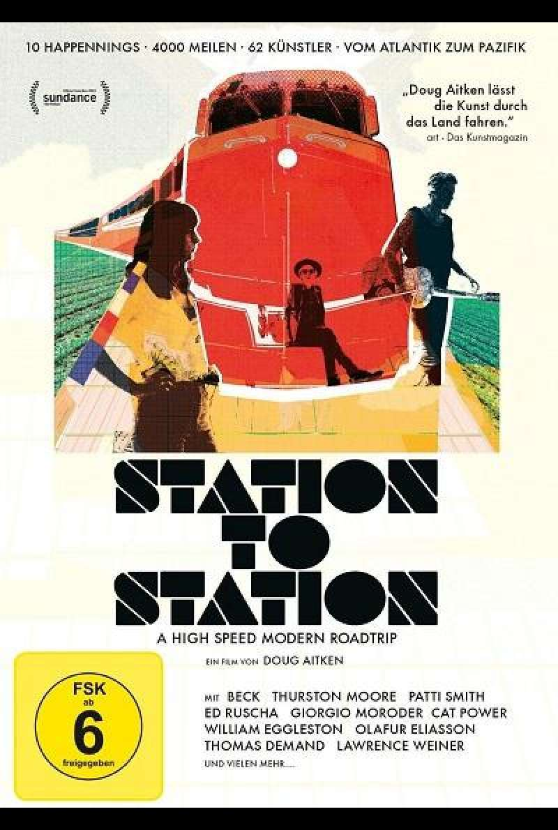 Station To Station - DVD-Cover