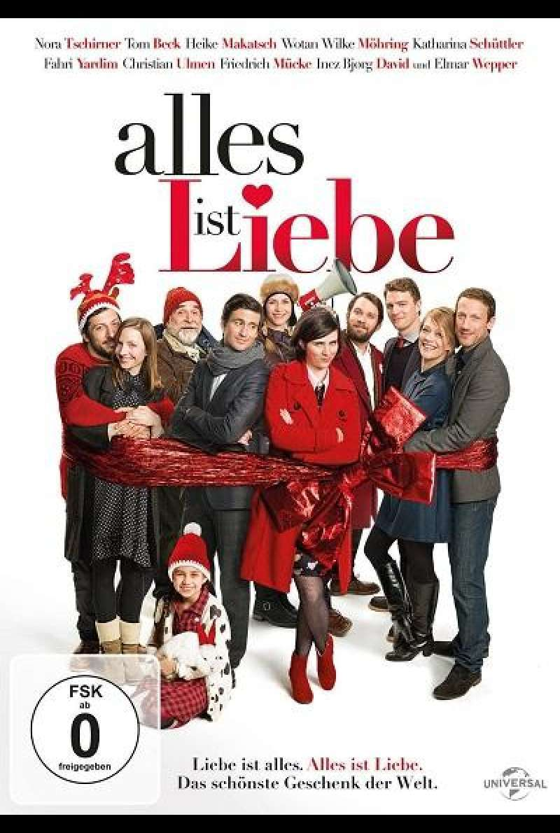 Alles ist Liebe - DVD-Cover