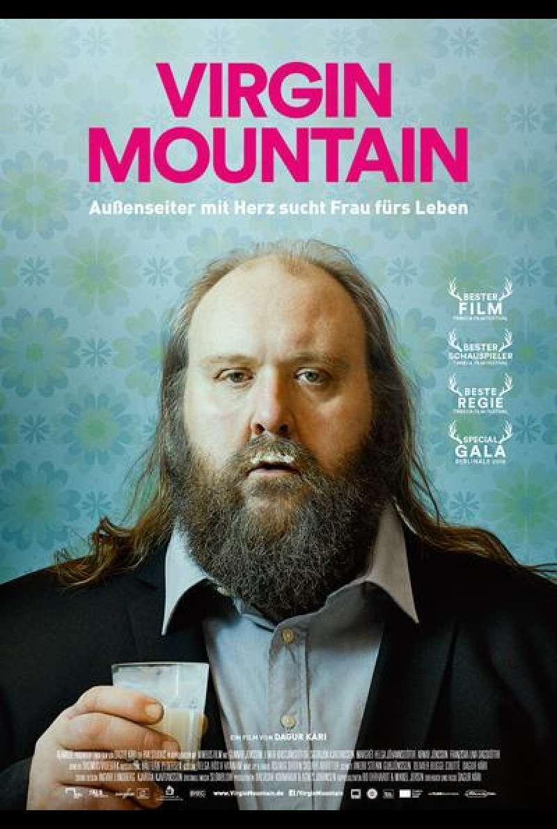 Virgin Mountain (Plakat deutsch)