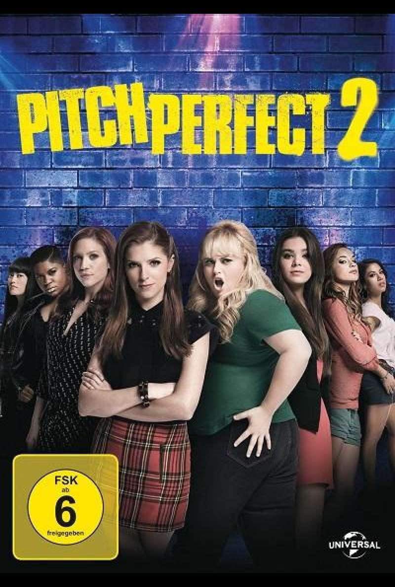 Pitch Perfect 2 - DVD-Cover