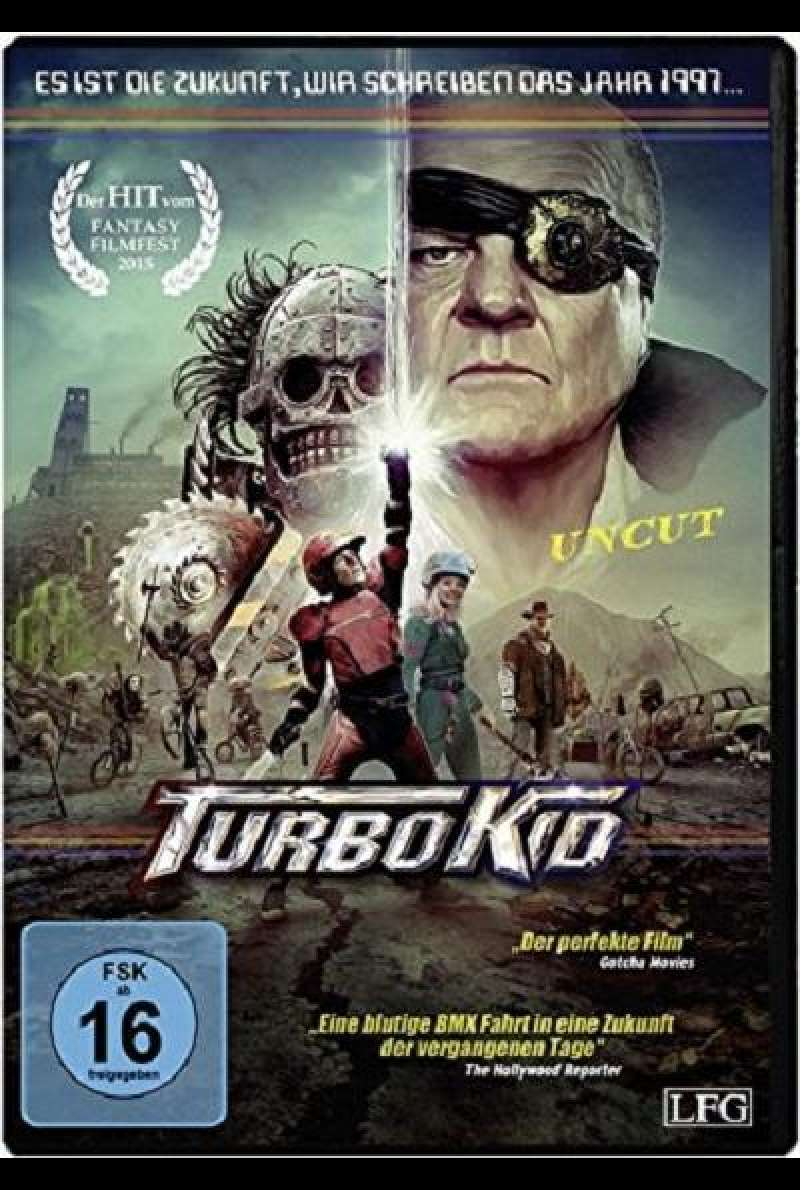 Turbo Kid - DVD-Cover