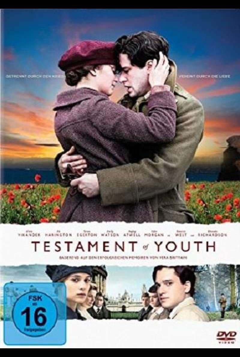 Testament of Youth - DVD-Cover