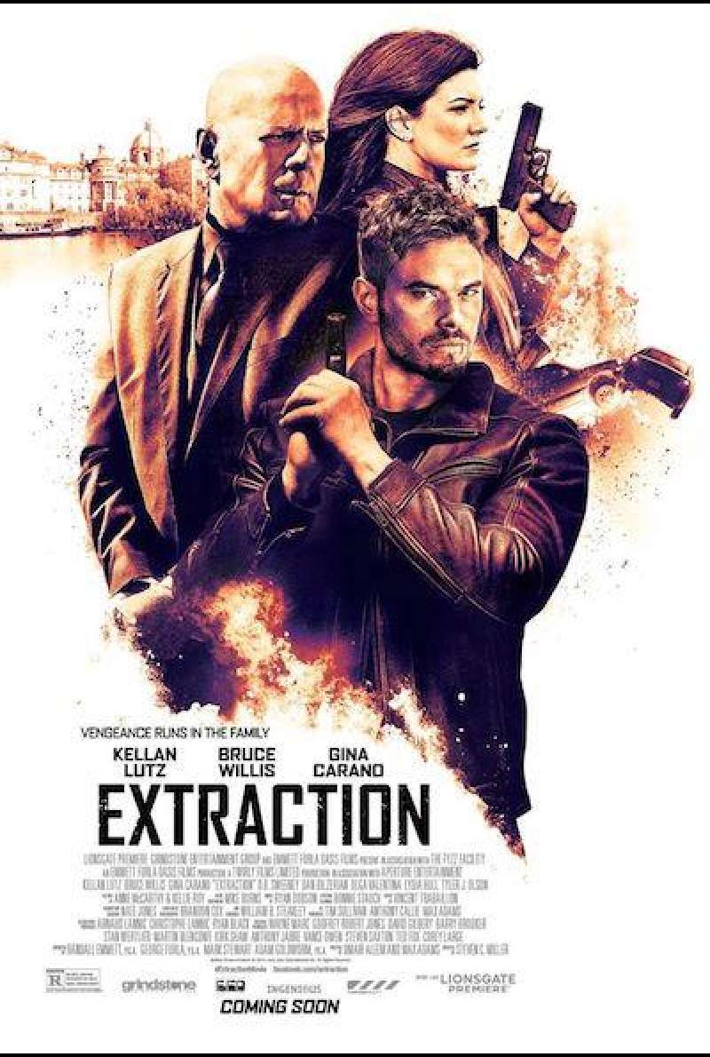 Extraction von Steven C. Miller - Filmplakat (US)