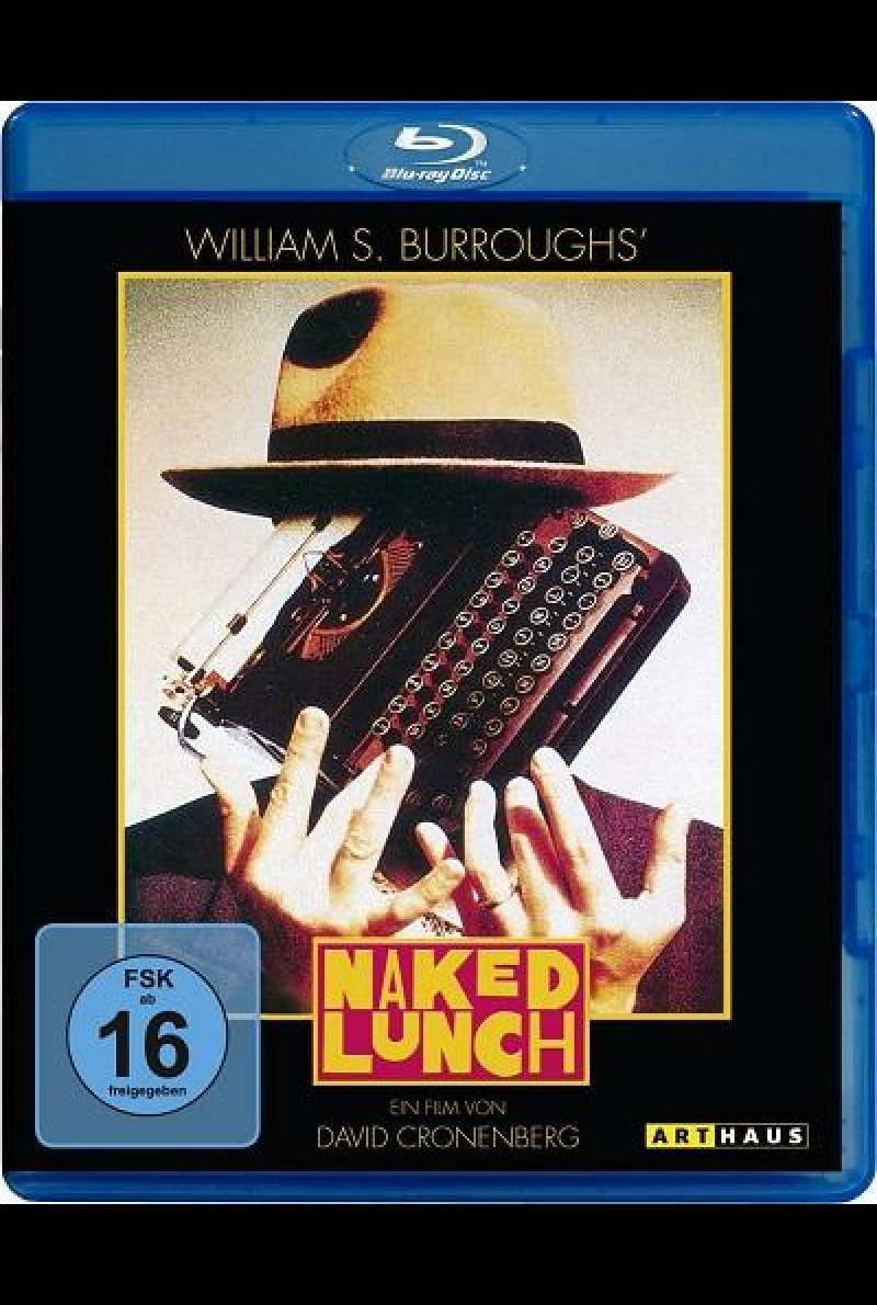 Naked Lunch - Blu-ray-Cover