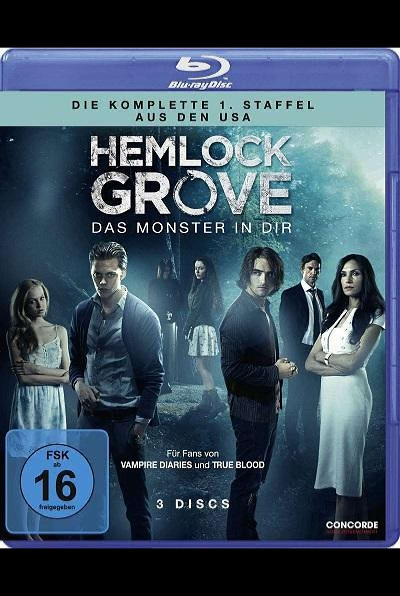 Hemlock Grove - Staffel 1 - Blu-ray-Cover