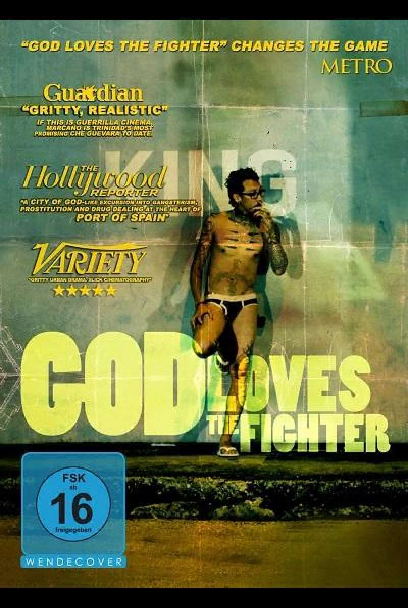God Loves the Fighter - DVD-Cover