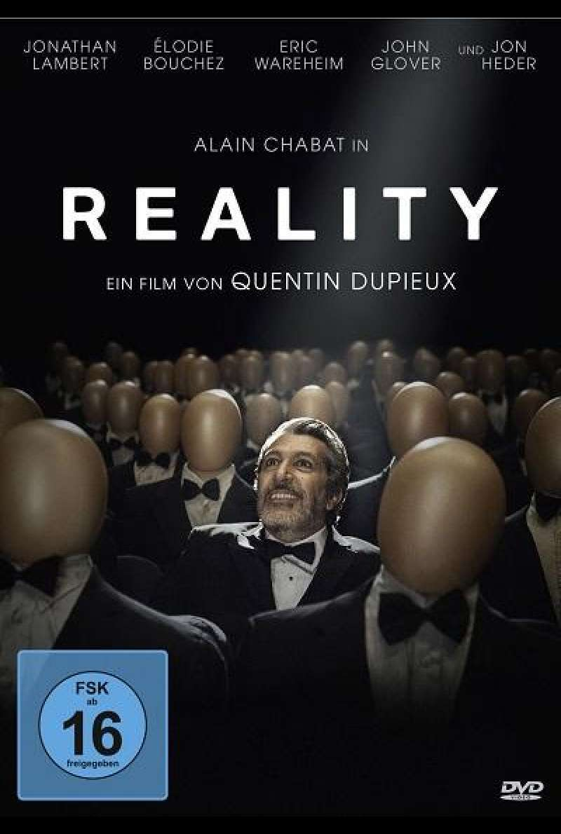 Reality (2014) - DVD-Cover