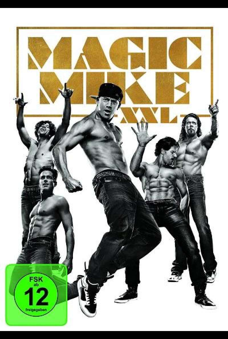 Magic Mike XXL - DVD-Cover