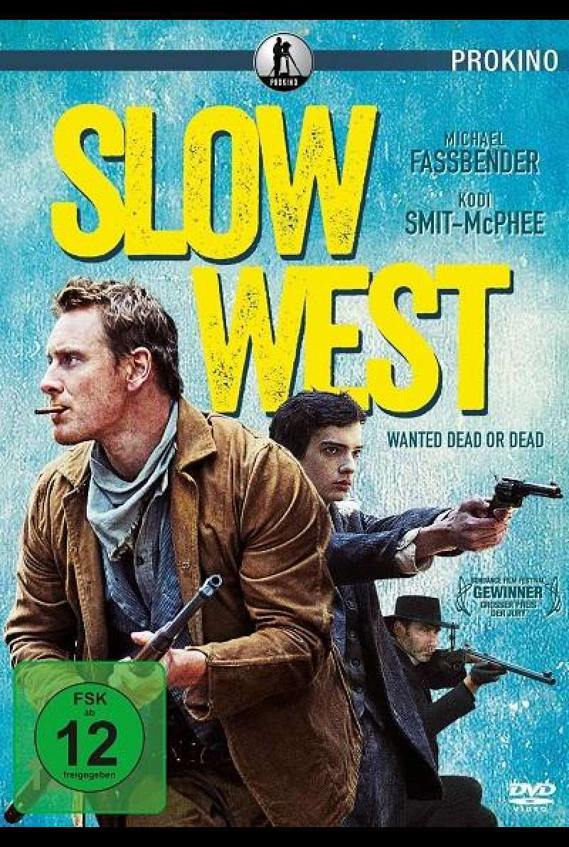Slow West - DVD-Cover