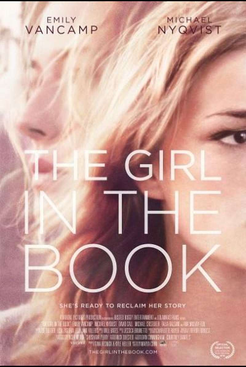 The Girl in the Book - Filmplakat (US)