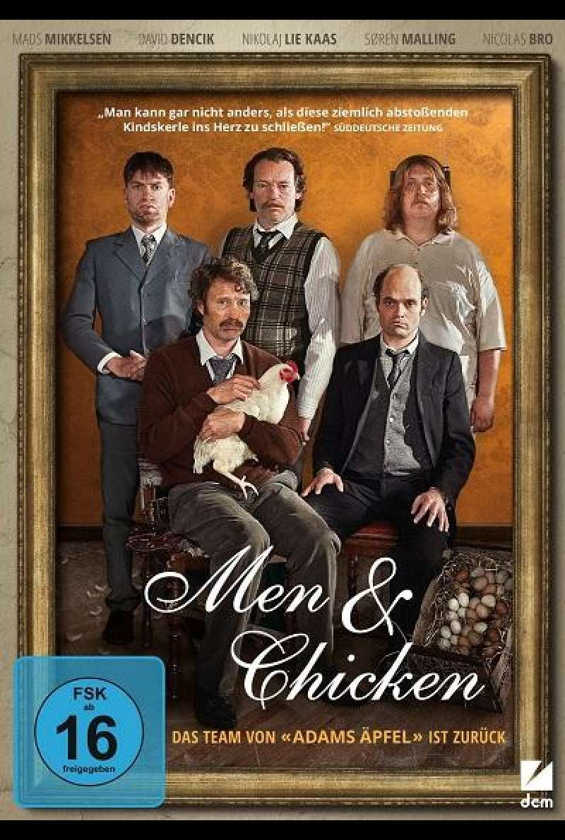 Men & Chicken - DVD-Cover