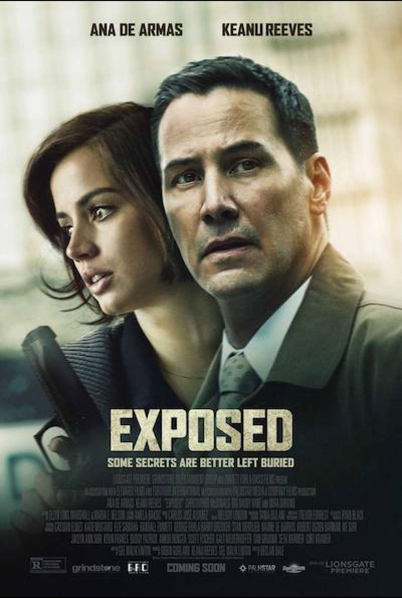 Exposed von Declan Dale - Filmplakat (US)