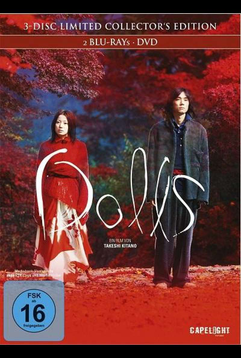 Dolls (Limited Collector's Edition) - Blu-ray-Cover