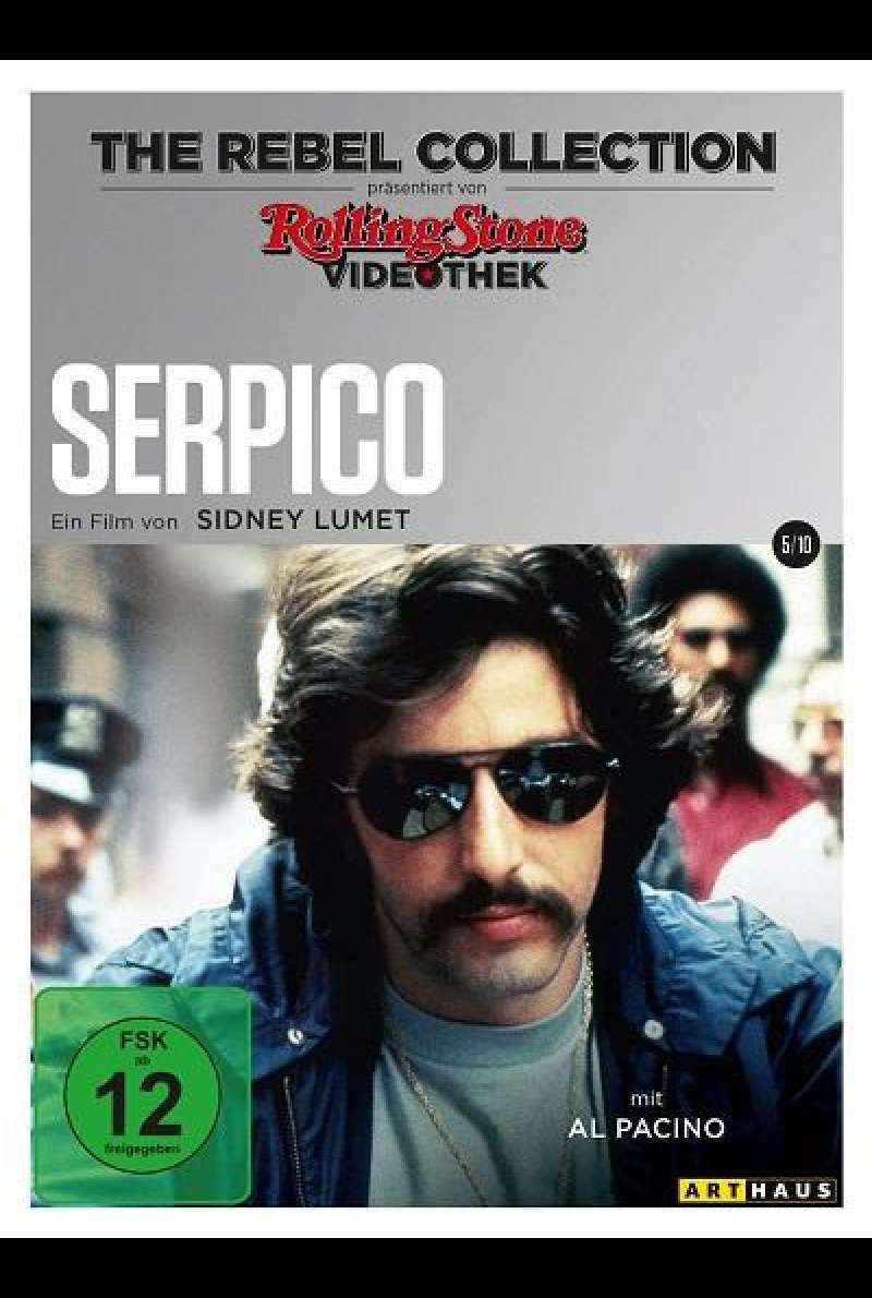Serpico (Rolling Stone Videothek) - DVD-Cover